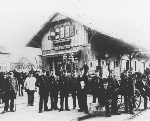 Bahnhof Töss 1876